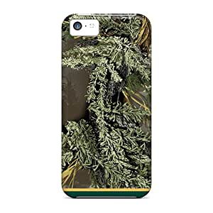 New Fashion Premium Tpu Cases Covers For Iphone 5c - Oakland Athletics