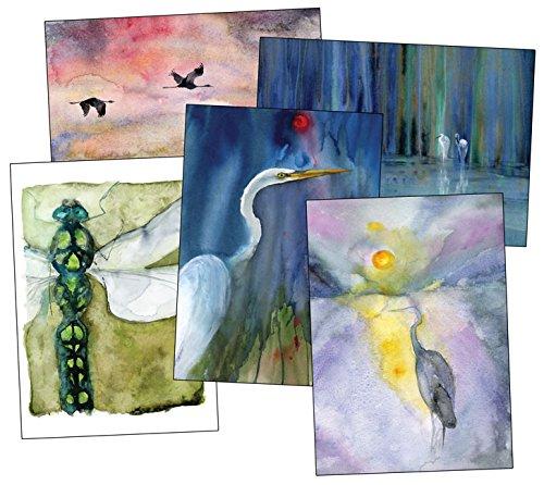 Download Classic Notecard Set (Heron Dance Watercolor Notecards) pdf epub
