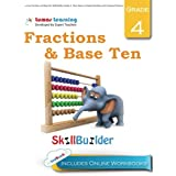 Lumos Fractions and Base Ten Skill Builder, Grade 4 - Place Value, Compare Numbers and Compare Fractions: Plus Online Activities, Videos and Apps (Lumos Math Skill Builder) (Volume 4)