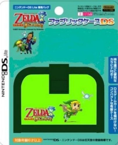 Official Nintendo DS Zelda Game Cartridge Case - Link / Green (Japanese Import)