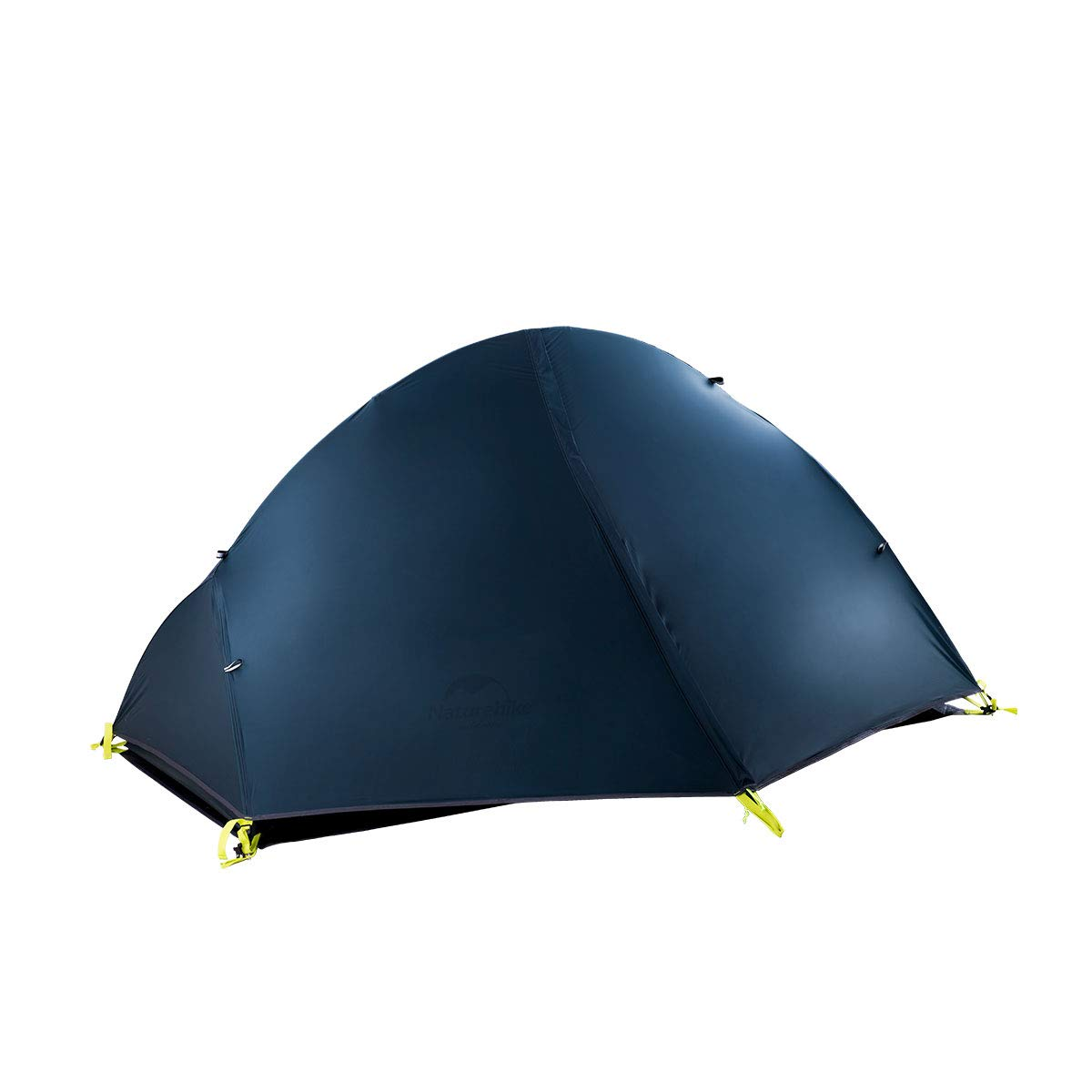 Naturehike Backpacking Tent for 1 Person Camping Hiking Lightweight Waterproof one Person Tent with Footprint (20D Dark Blue) by Naturehike