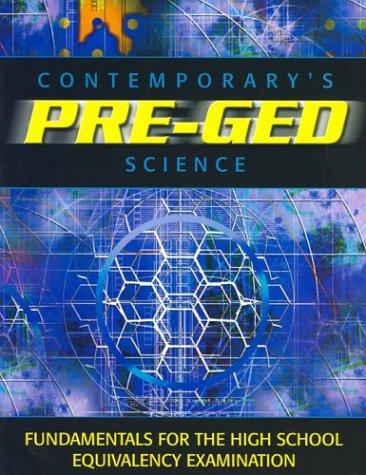 Pre-GED Satellite Book: Science (GED Calculators)