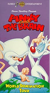 Amazon.com: Pinky & the Brain: A Pinky & the Brain Christmas [VHS ...