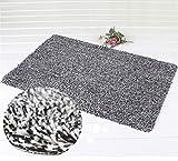 Indoor Door Mat No Slip Super Absorbent Clean Step Doormat, Shoes Scraper Fantastic Ideal For Your Home's Front Door 18''x 28'' By KsaBela
