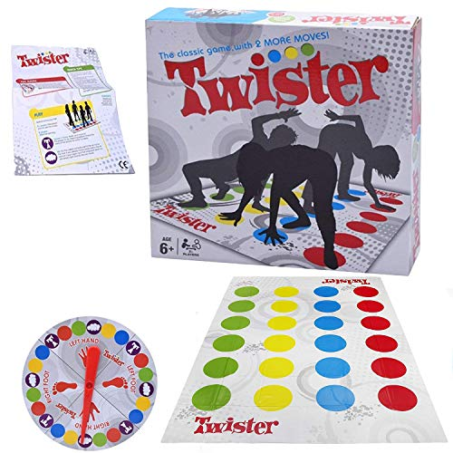 Twister Body Game Funny Moves Distorted Floor Mat Board Game for Ultimate Family and Party,Picnic,Outdoor Sport Games Toy Gift