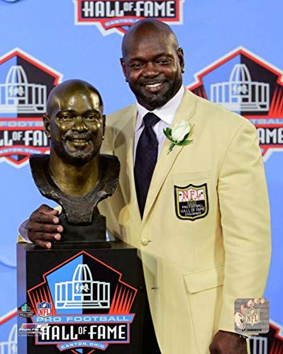 16x20 Hall Of Fame Photo - Emmitt Smith Dallas Cowboys Hall of Fame Photo (Size: 16
