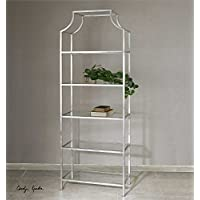 Silver Etagere the Aurelie Collection bookcases