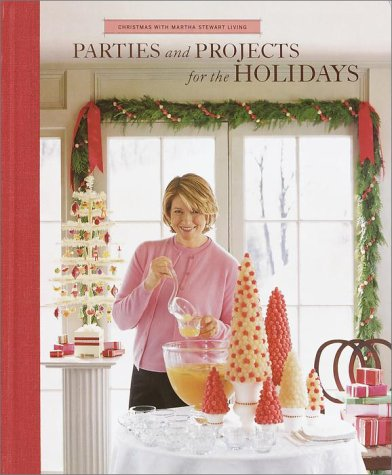 parties and projects for the holidays christmas with martha stewart living martha stewart 8601422749298 amazoncom books - Martha Stewart Christmas