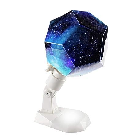 WXAN Proyector Giratorio del Cosmos lámpara de Mesa luz de Noche ...