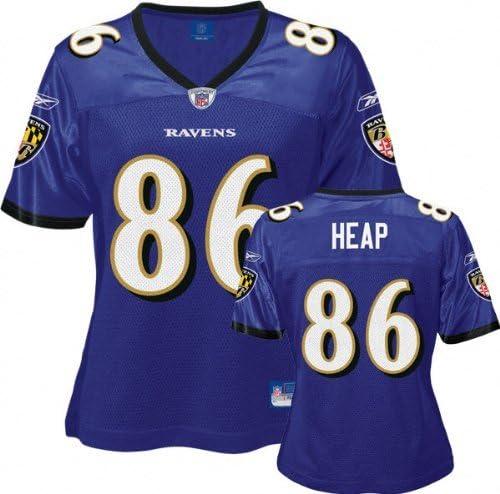 NFL Football Baltimore Ravens Jersey/Women's/Ladies Todd Heap # 86 ...