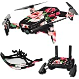 MightySkins Skin For DJI Max Coverage - Hibiscus | Protective, Durable, and Unique Vinyl Decal wrap cover | Easy To Apply, Remove, and Change Styles | Made in the USA