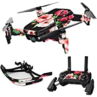 MightySkins Skin for DJI Mavic Air Drone - Hibiscus | Max Combo Protective, Durable, and Unique Vinyl Decal wrap cover | Easy To Apply, Remove, and Change Styles | Made in the USA