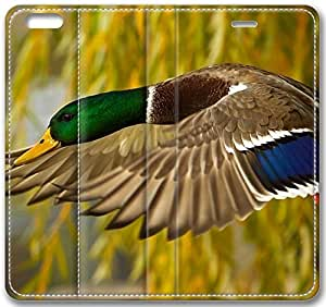 Animals Wild Duck Flying Close Up Case for iPhone 6 Plus 5.5 inch(Compatible with Verizon,AT&T,Sprint,T-mobile,Unlocked,Internatinal)