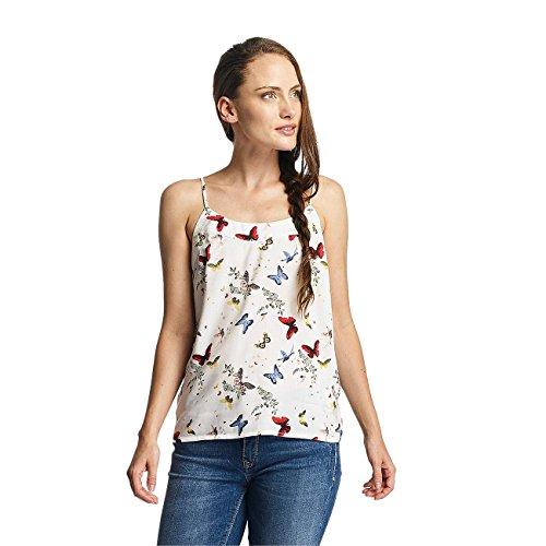 Vero Moda Mujeres Ropa superior / Top vmNow Singlet blanco