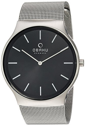 Obaku Men's Analog-Quartz Watch with Stainless-Steel for sale  Delivered anywhere in Canada
