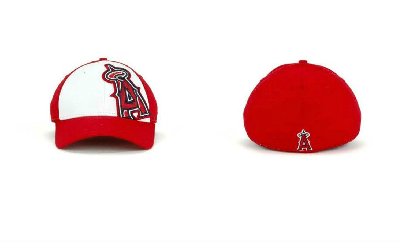 Los Angeles Angels of AnaheimサイズMedium / Largeフレックスフィット帽子キャップ – Best Fits 7 1 / 4 – 7 5 / 8 B071W9MWK2