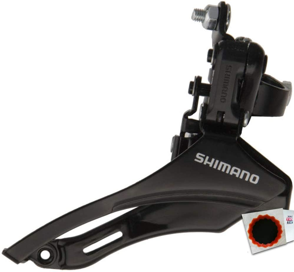 Shimano Umwerfer Tourney FD-TZ31 6//7-fach DOWN Swing 6//7-fach DOWN Swing Schelle