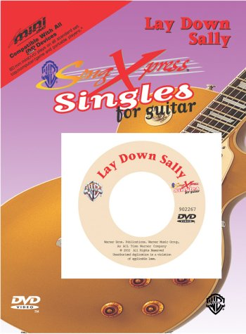 SongXpress Singles for Guitar -- Lay Down Sally (miniDVD)