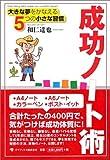 「成功ノート術」和仁 達也、ゴマブックス
