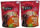 Ol' Roy Munchy Bone Peanut Butter flavor 20 oz 2 pack Larger Image