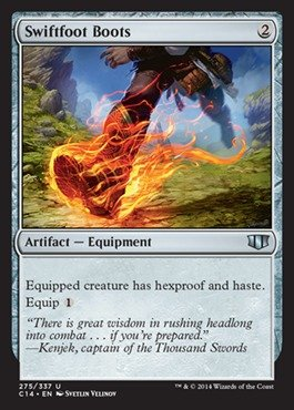 Magic: the Gathering - Swiftfoot Boots - Commander - Card Advantage Online Boots