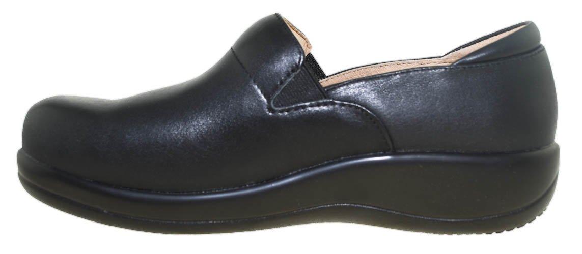 Alegria Women's Keli Professional Black Nappa Leather 38 W EU