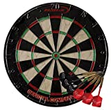 : Halex Championship Bristle Dartboard with 6 Darts