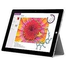 "Microsoft Surface 3 10.8"" Tablet 64GB Storage Intel Quad Core Windows 10"