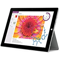 Microsoft Surface 3 Tablet (10.8-Inch, 64 GB, Intel Atom, Windows 8.1)