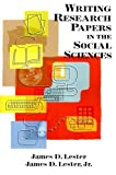 Writing Research Papers in the Social Sciences 9780321267634