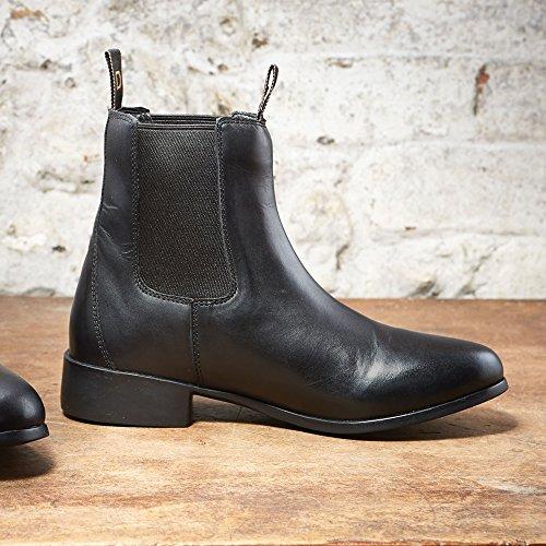 Dublín elevación adultos Jodhpur botas negras 11UK