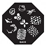 Pretty Nail Art Stickers Stamping New in Market Manicure Styles Code QA33