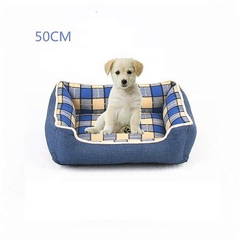 Nueva alfombra de la perrera del dril de algodón totalmente extraíble y lavable Teddy Golden Retriever perro grande mascota nido directo de la fábrica cama ...