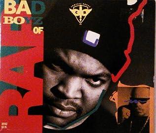 book cover of Bad Boyz of Rap