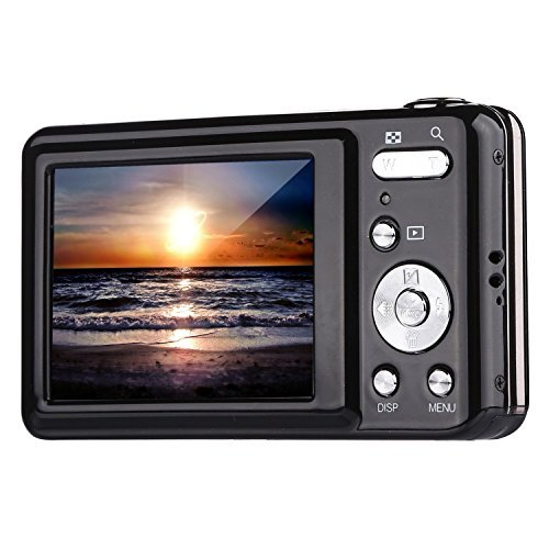 Digital Camera,Bigaint BG007 2.7' TFT 1280x720 5X Optical Zoom 15MP HD Anti-shake Smile Capture Digital Video Camera
