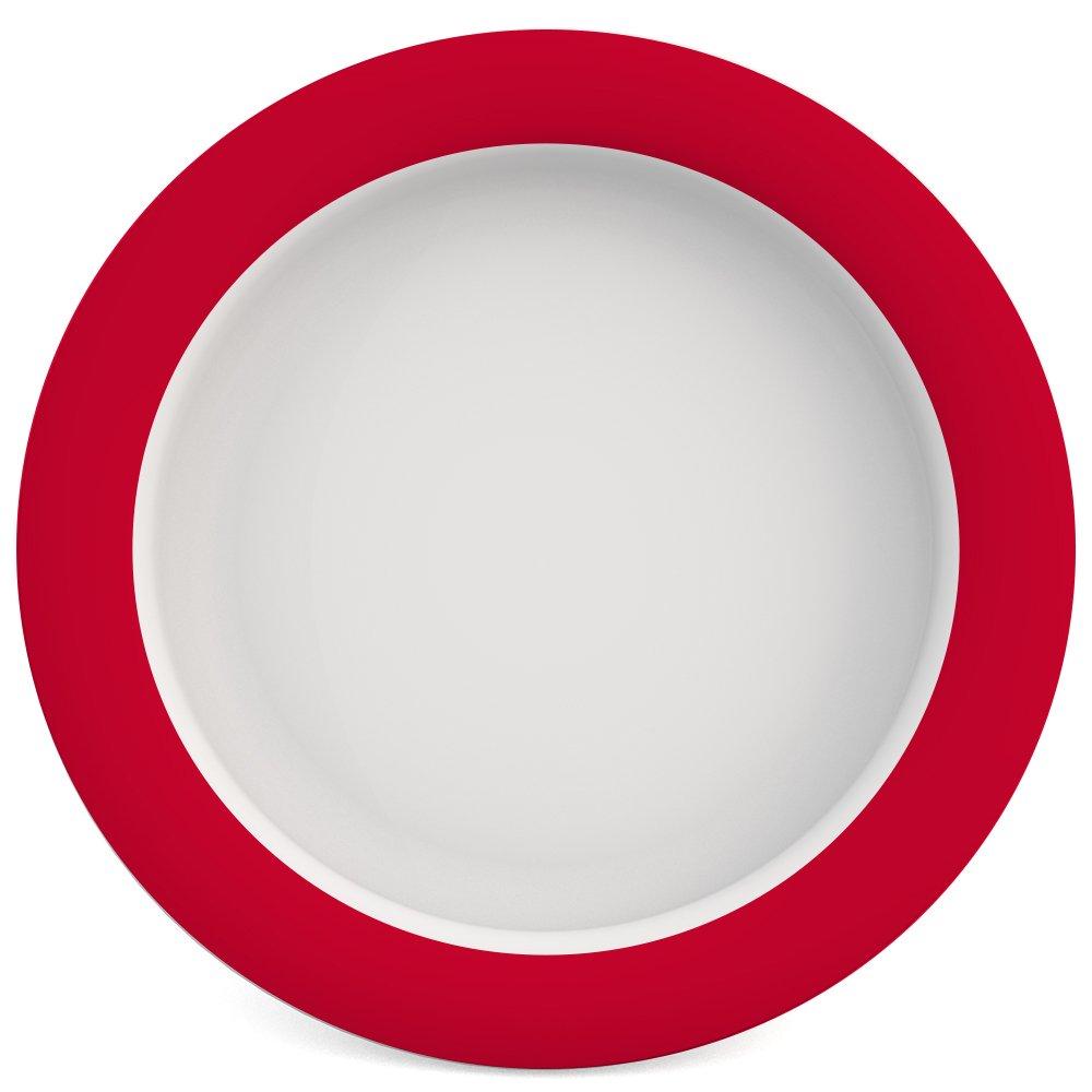 // assiette ergonomique assiette antid/érapante Ornamin Assiette avec lAstuce Fond Inclin/é /Ø 26 cm Multi aide /à manger Mod/èle 901