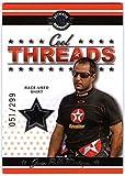 JUAN PABLO MONTOYA 2007 Wheels Cool Threads Race-Used Shirt Card 51/299 BV$15