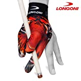 LONGONI Billiard POOL CUE GLOVE Tiger for Left hand