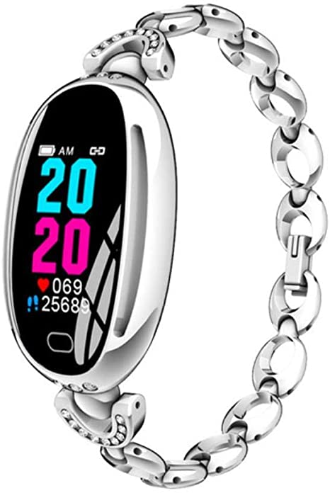 Amazon.com: Lady Smart Watch Waterproof Women Smart Bracelet ...