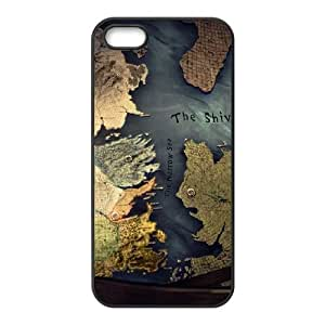iPhone 5 5s Cell Phone Case Black Westeros map TR2398889