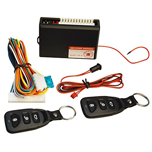 FICBOX Universal Car Door Lock Vehicle Keyless Entry System Auto Remote Central Kit with Control (Remote Pneumatic Actuator)