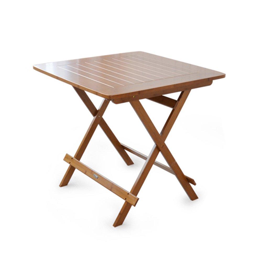 ZZHF 折りたたみテーブル/正方形テーブル/屋外の本棚/携帯用折りたたみダイニングテーブル/家庭用コーヒーテーブル用テーブル デスク ( サイズ さいず : 60*60*59CM ) B07C1TY5LZ 60*60*59CM 60*60*59CM