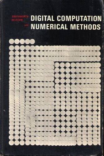 Digital Computation and Numerical Methods