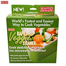 Rapid Brands B01AGZD3X4 Rapid Veggie Steamer, One Size, Green