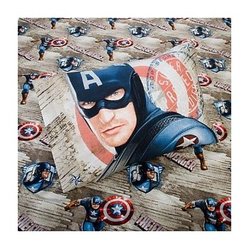 Marvel Captain America Sheet Set Twin Size Sheets by Marvel