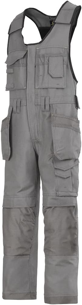 Snickers 3121818052 DuraTwill Salopette dartisan Taille 52 Gris