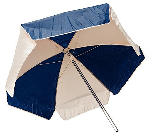 Cheap LIFEGUARD UMBRELLA – WEATHER DURABLE – NAVY BLUE AND WHITE
