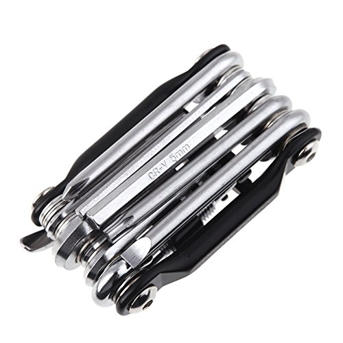 Od-sports Outdoor 16 in 1 Mountain Bicycle Tools Sets Bike Bicycle Multi Repair Tool Kit Hex Spoke Wrench Mountain Cycle Screwdriver Tool