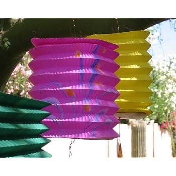 Chinese Paper Lanterns, pk of 12