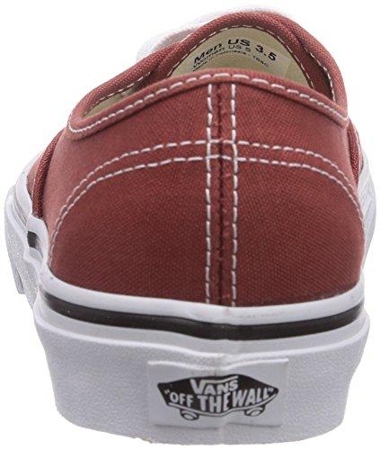 Basses Rouge Henna Baskets Authentic Adulte Vans tru Mixte U burnt HqvnP